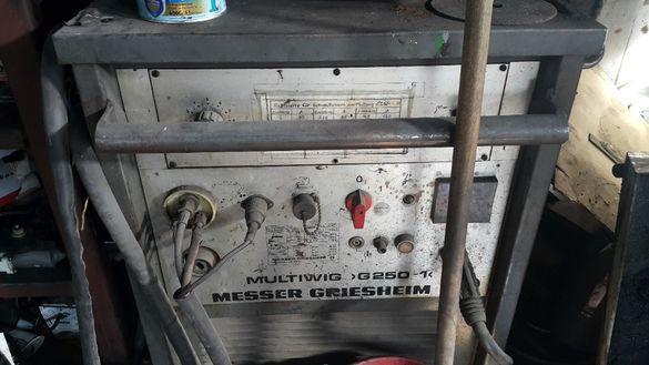 Заваръчен апарат Messer Griesheim Multiwig G250-1