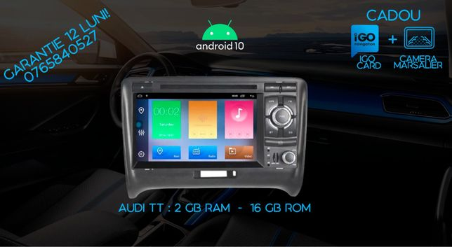 Navigatie Gps DVD Audi TT Android 10, 2 Gb ram GARANTIE