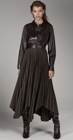 Camasa din piele, Massimo Dutti Limited Edition