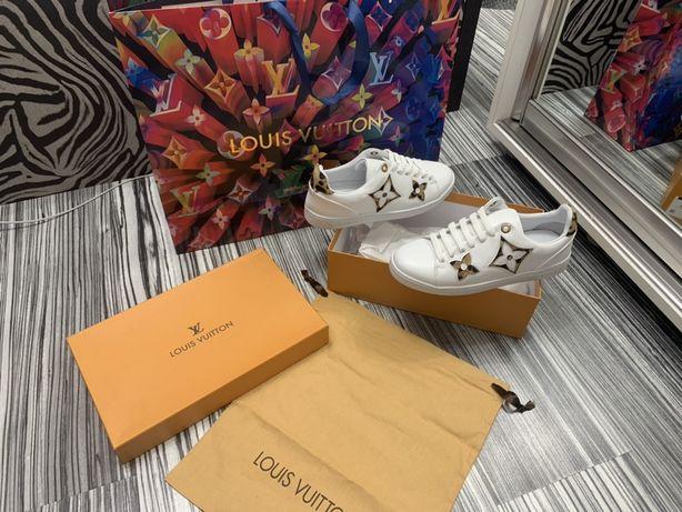 Adidasi Louis Vuitton-piele naturală 100% poze REALE nu copiate ! Prod