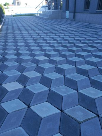 Pavele, pavaje beton curte, piatra decorativa pret bun model 3D