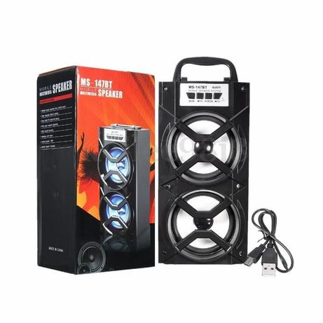 Bluetooth LED USB AUX TF FM Radio Portátil wireless