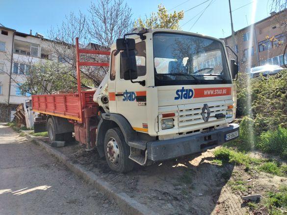 Камион - кран рено
