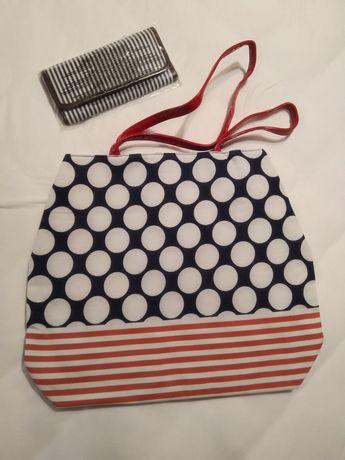 Дамска чанта и портмоне