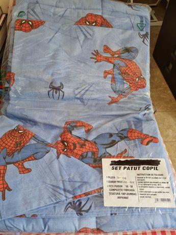Set lenjerie patut -model Spider Man-NOUA!