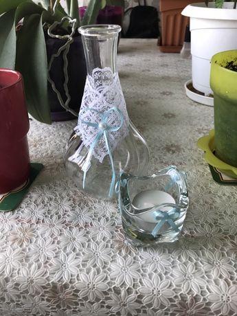 Продавам украсени вази за сватба