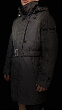 Куртка зимняя (удлиненная с поясом), молодежная