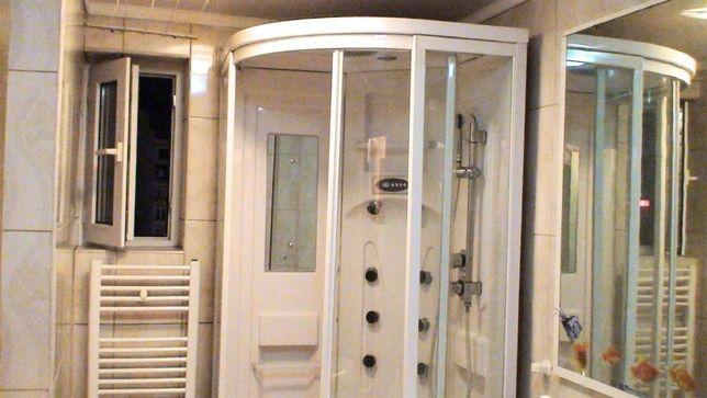 Usa Sticla transparenta semi-rotunda pt acest model de cabina dus