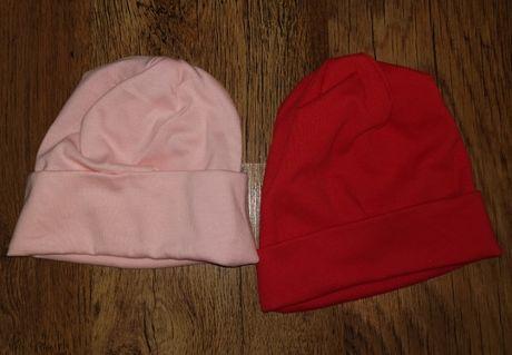 Детски памучни шапки до 4г.