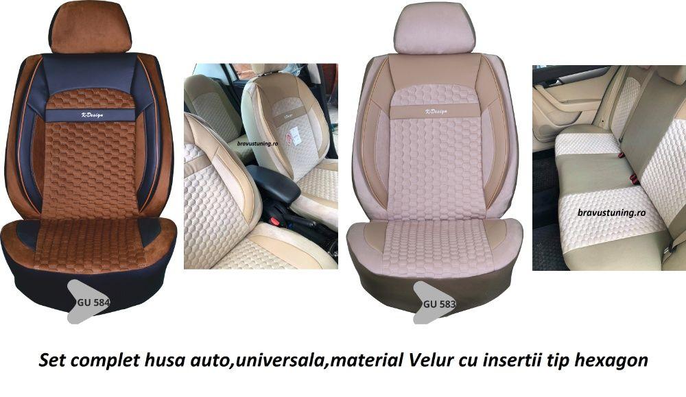 Set husa auto,material calitate superioara,insertii tip hexagon