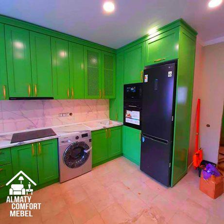 Самые низкие цены!! Кухни шкаф-купе стенки все мебель на заказ Алматы
