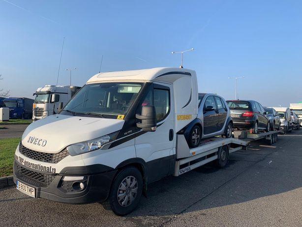 Transport auto dube Germania Romania Bucuresti Craiova Constanta