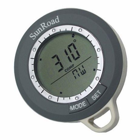 Цифровой компас-часы SUNROAD.