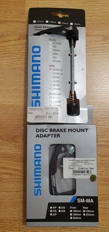 Shimano Quick Release Lever, Disc Brake mount