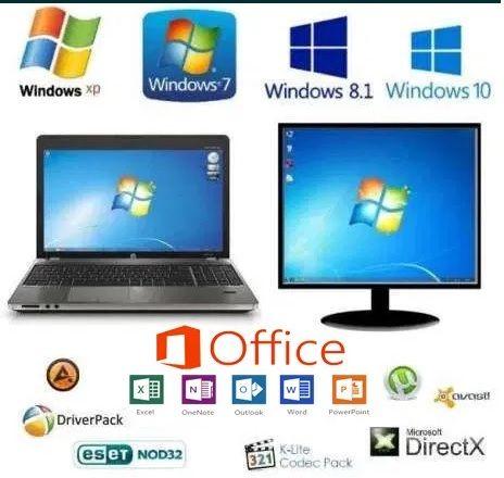 Услуги программиста,установка операционных систем и антивирусов