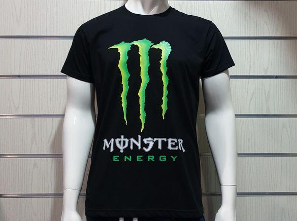 Страхотна нова мъжка тениска с щампа MONSTER