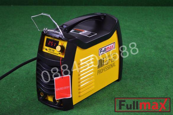 Инверторен електрожен F1(250 ампера) с пълна окомплектовка с гаранция
