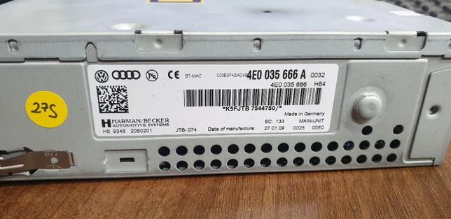 Unitate Multimedia MMI 3G Audi 4E0035666A