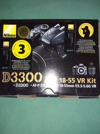 Vând DSLR Nikon D3300