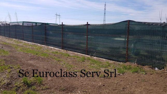 Importator plasa verde pentru gard 2x50 m umbrire 90% Calitate Premium