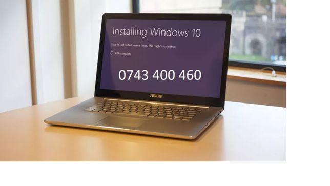Tehnician IT - instalare Windows la domiciuliu / reparatii laptop / pc
