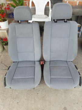 Седалки с калъф за ски за BMW E46