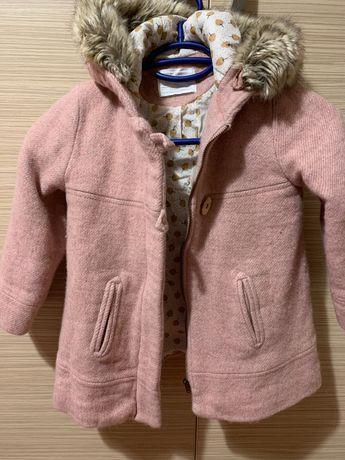 Palton Zara lână