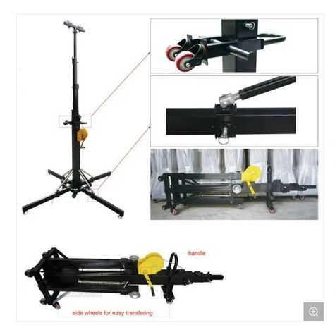 Tower Lift, Stand for Speakers Sound Systems