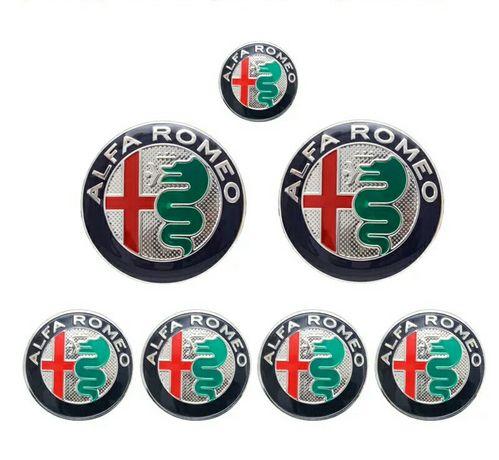 ALFA ROMEO - Set 8 embleme auto