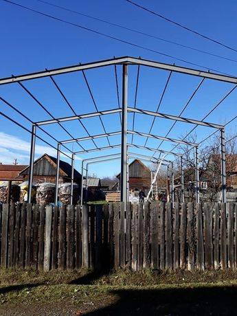 Vând ferme metalice și hale metalice