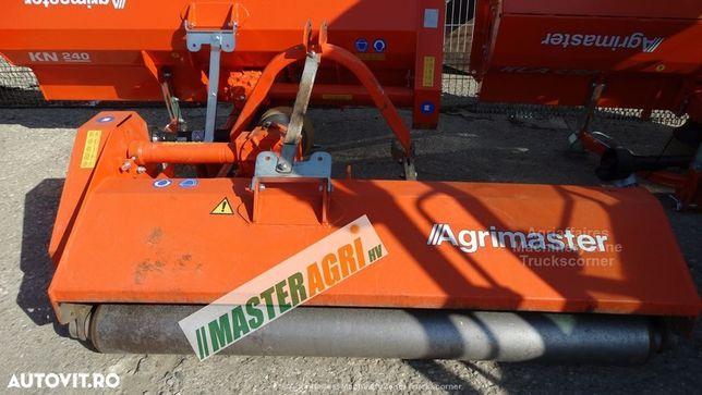 Agrimaster Tocator pasune KN 200 Tocator resturi vegetale, freza pasune si maracini utilizat