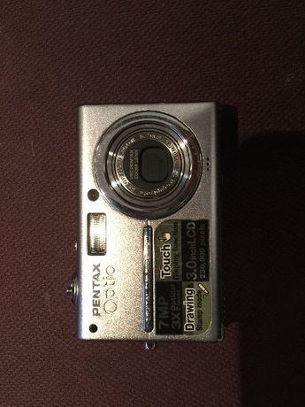Фотоапарат Pentax Optio T20 7 мега пиксела 3xZoom - с тъч-скрийн и