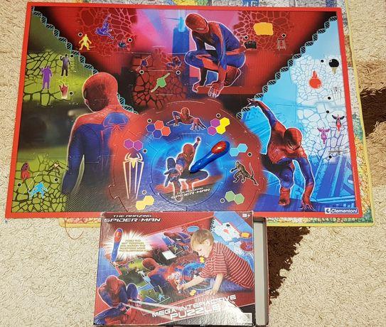 Mega puzzle interactiv Spider Man