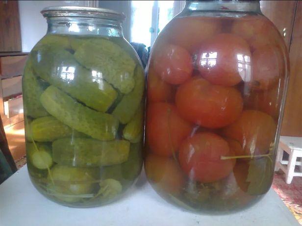 Продам домашние соленые огурцы, помидоры