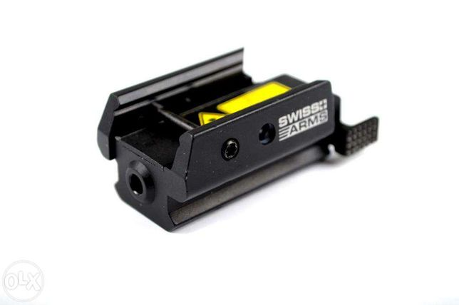 Micro Laser Pistol SWISS ARMS Metalic si Reglabil compatibil