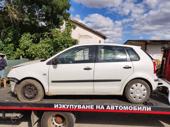 VW Поло 1.2 на части