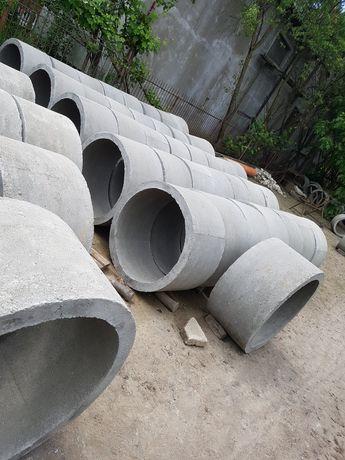 Vând tuburi de beton și execut/adâncesc fântâni