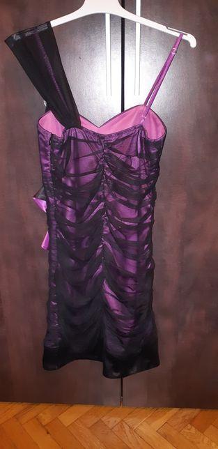 Rochie elegantă violet