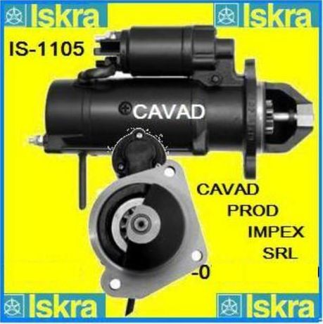 Electromotor original Iskra JCB2, 3,4CX EcoMax Diesel Max Engine