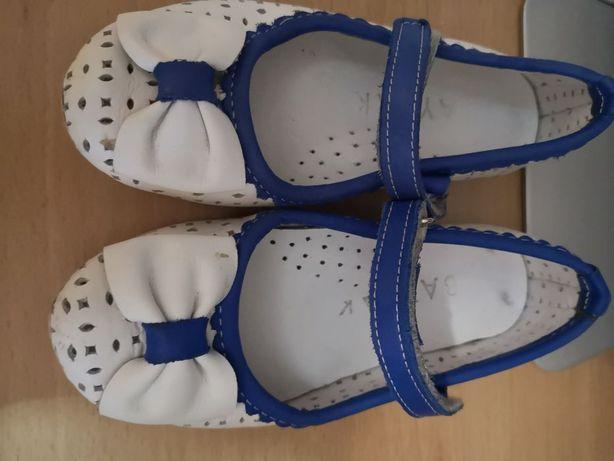 Детские туфельки, практически новые
