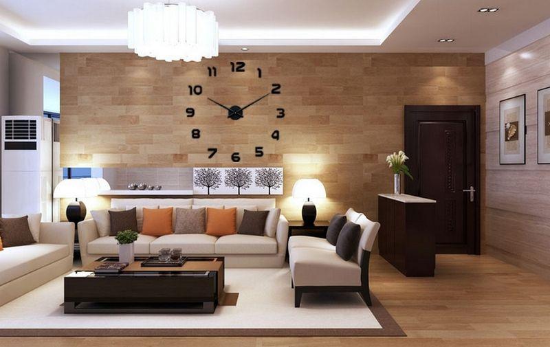 3D Стенни часовници - С цифри / Черти / Точки 40/60/80/100 см гр. Велико Търново - image 1
