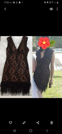 Къса официална рокля