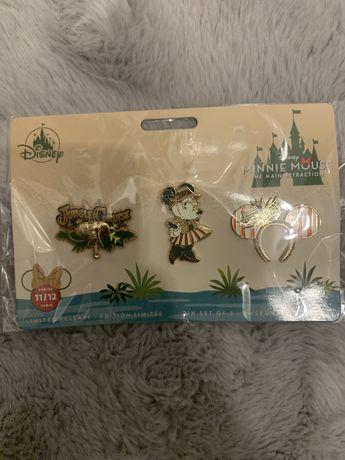 Vand Pin set/ insigne Minnie Mouse originale Disney Store din metal