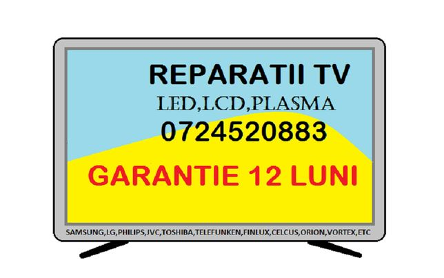 Reparatii TV, televizoare, LED,LCD,PLASMA la domiciliul dvs in BRASOV