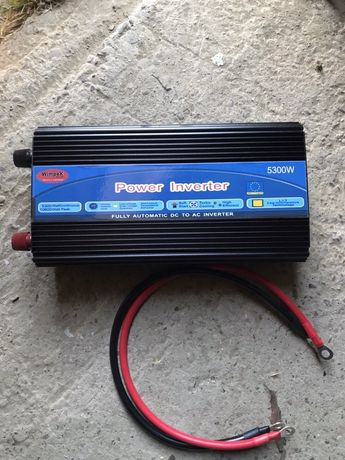 Invertor De Curent 24V—> 220V (5300W)