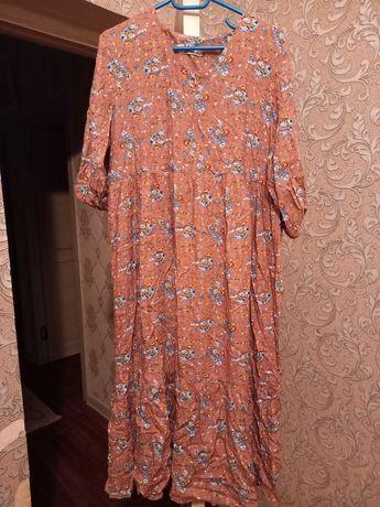 Платье штапелььь