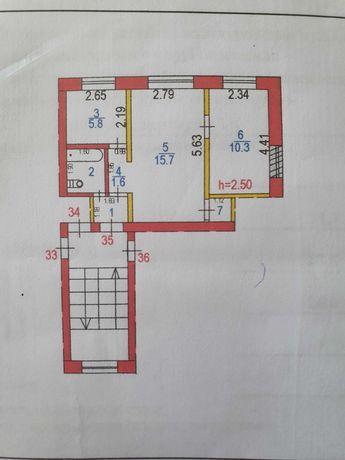 Продаю 2х комнатную квартиру Жамбыла 56