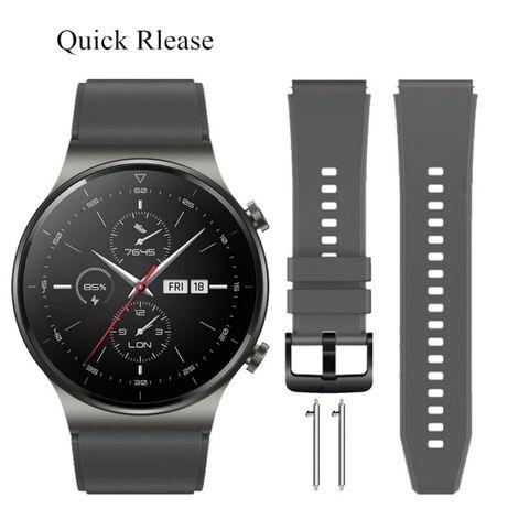 Силиконови каишки за Huawei Watch GT2 Pro/ GT2 / GT/ Honor Magic 2