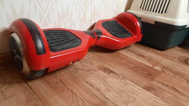 Продам гироскутер ,красный. Фирменная батарея самсунг