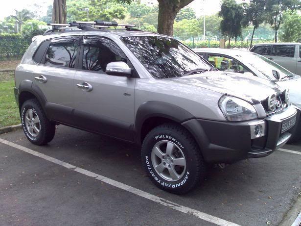 inaltare suspensie Hyundai Tucson +4cm